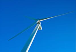 製品会社として初めての100%風力発電